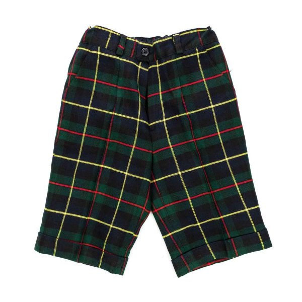 Paio Crippa - Checked pants for Boys