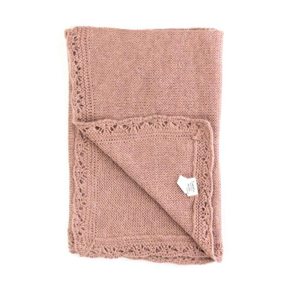Tocotò Vintage - Pink Blanket for Baby girls