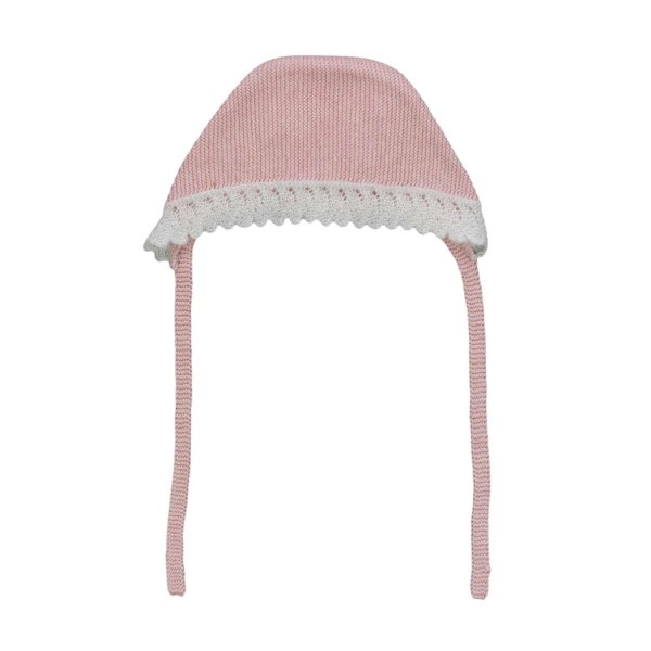 Pili Carrera - Embroidered Bonnet for Babies