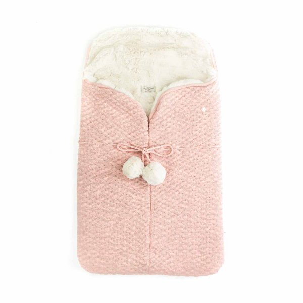 Pili Carrera - Pink Blanket sack for Baby girls