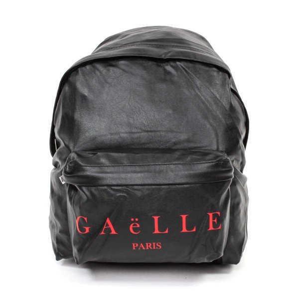 Gaelle Paris - Black Backpack with Logo for Girls