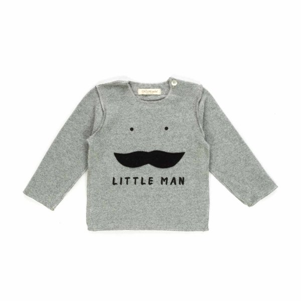 Olive - BABY LITTLE MAN PRINT T-SHIRT