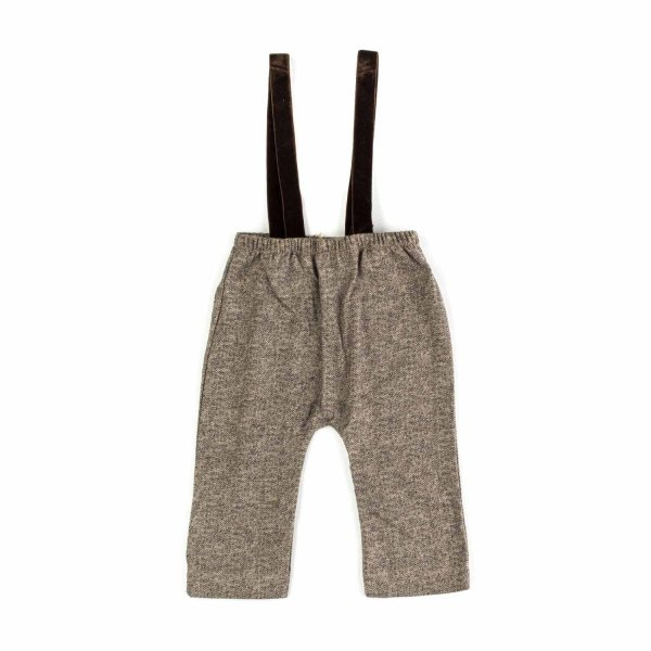 Olive - BABY BOY TROUSERS WITH BRACES