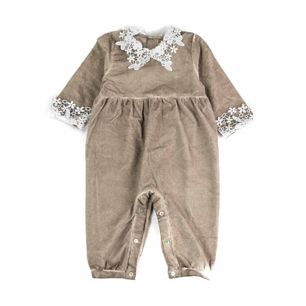 Olive - BABY GIRL ROMPERS WITH EMBROIDERY