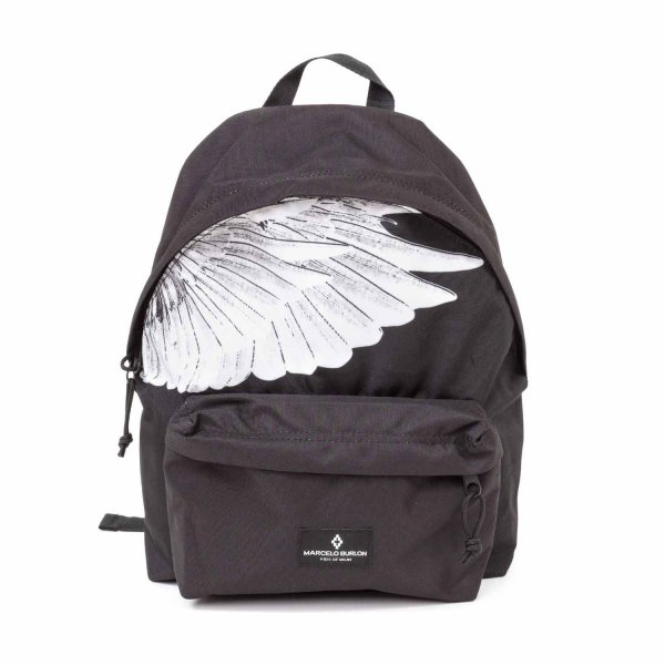 Marcelo Burlon - BOY BLACK WINGS BACKPACK