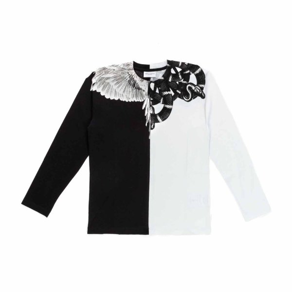 Marcelo Burlon - BOY WINGS SNAKE T-SHIRT