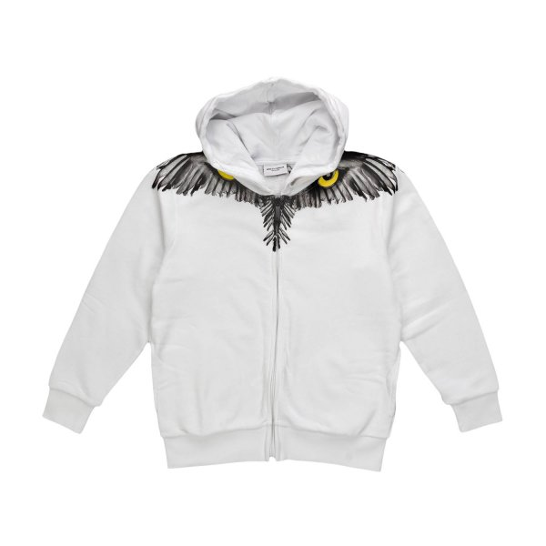 Marcelo Burlon - BOY WHITE OWL SWEATSHIRT