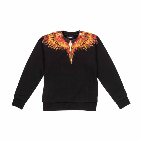 Marcelo Burlon - BOY FIRE WINGS SWEATSHIRT