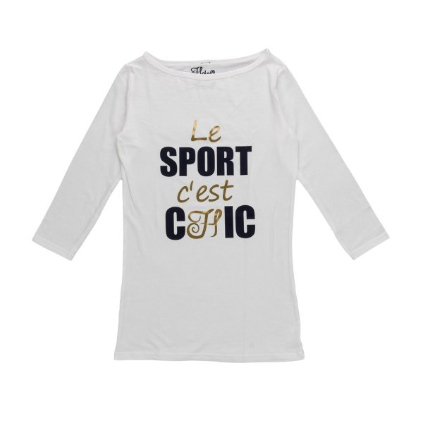 Hdoll - SPORT CHIC PRINT T-SHIRT FOR GIRLS