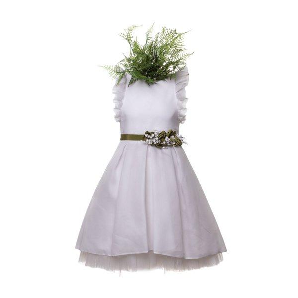 dada499ed423 ELSY ABITO CERIMONIA BIANCO BAMBINA TEEN Elegante abito