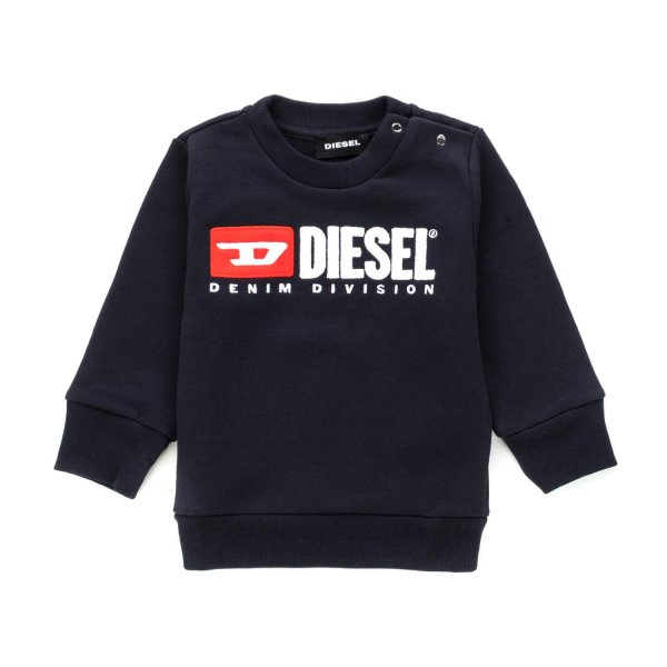 Diesel - BABY SWEATSHIRT WITH LOGO