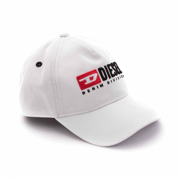 Diesel - UNISEX WHITE CAP WITH LOGO