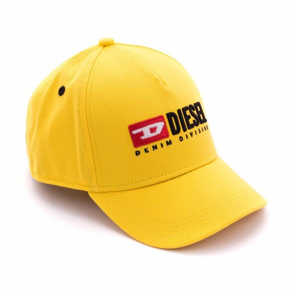 Diesel - UNISEX YELLOW CAP WITH LOGO