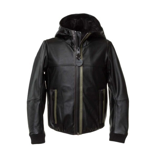 Diesel - FAUX LEATHER JACKET FOR BOYS