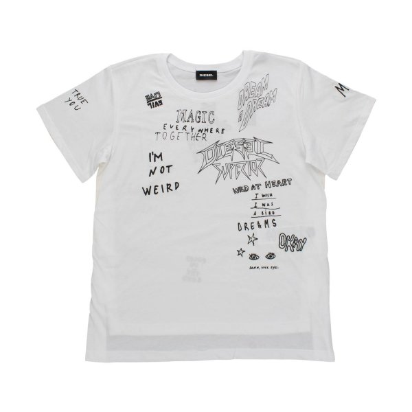 Diesel - GRAFFITI T-SHIRT FOR GIRLS