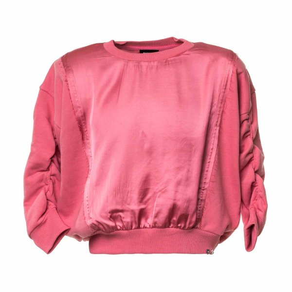 Diesel - PINK SWEATSHIRT FOR GIRLS