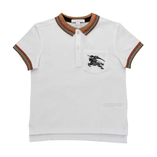 Burberry - LOGO POLO SHIRT FOR BOYS