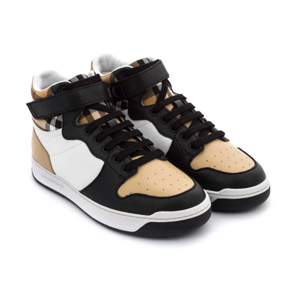 Burberry - UNISEX HIGH-TOP SNEAKERS