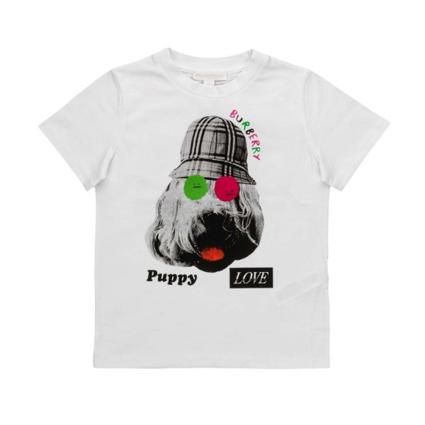 Burberry - PUPPY LOVE T-SHIRT FOR GIRLS