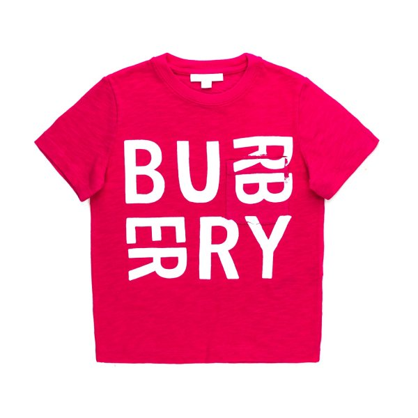 Burberry - UNISEX COTTON T-SHIRT WITH LOGO
