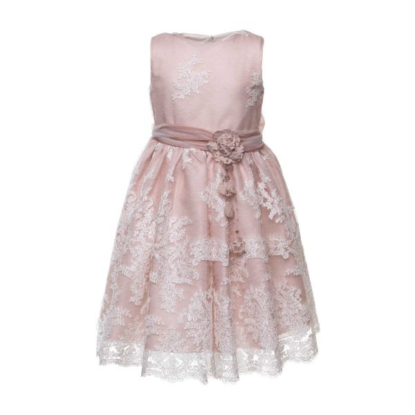 Mimilú - PINK CEREMONY DRESS FOR GIRLS