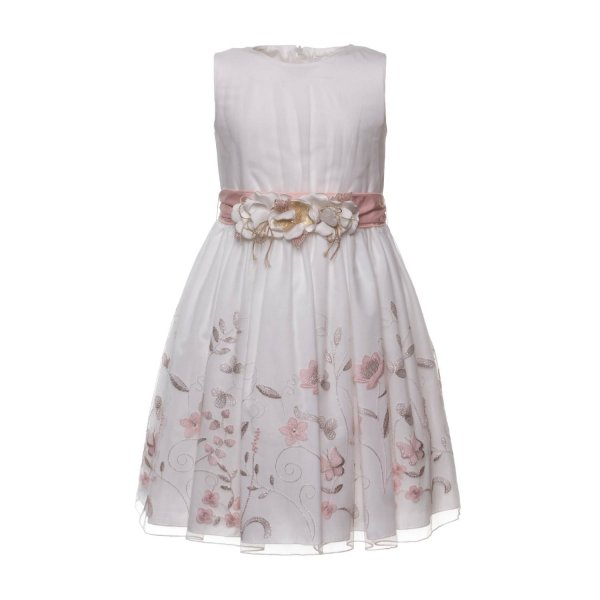 Mimilú - GIRL CEREMONY EMBROIDERED DRESS
