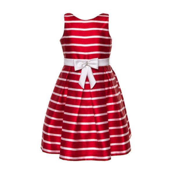 Mimilú - RED CEREMONY DRESS FOR GIRLS