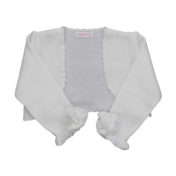 Mimilú - CEREMONY SHORT SHRUG FOR GIRLS