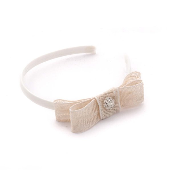 Mimilú - HAIRBAND WITH BOW FOR GIRLS