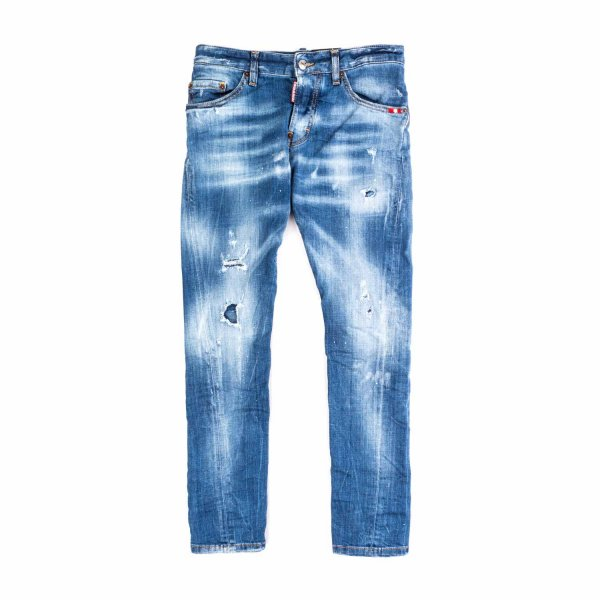 Dsquared2 - JEANS STRAPPATI TEENAGER