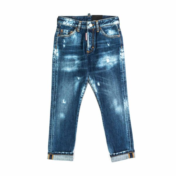 Dsquared2 - JEANS DESTROYED BAMBINO TEEN