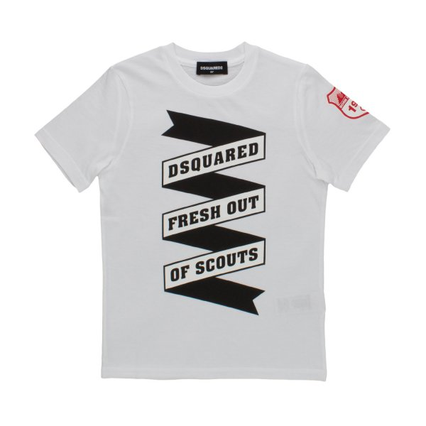 Dsquared2 - LOGO T-SHIRT FOR BOYS