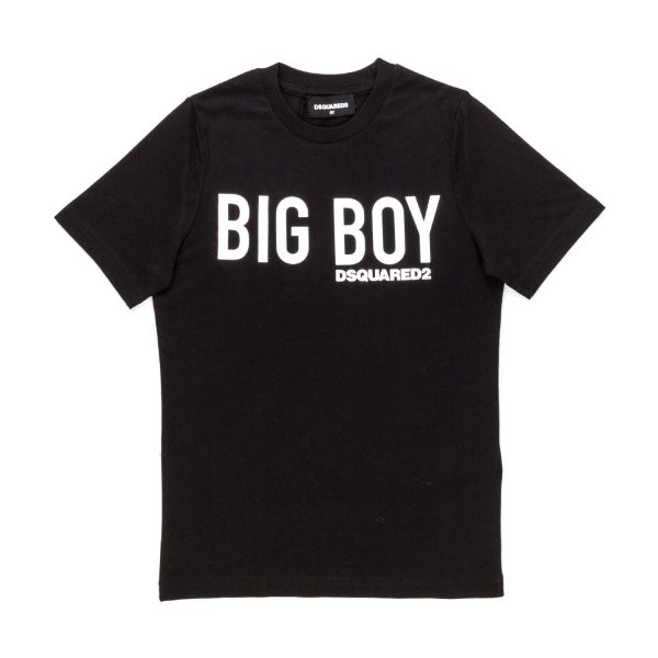 Dsquared2 - BIG BOY PRINT T-SHIRT FOR BOYS