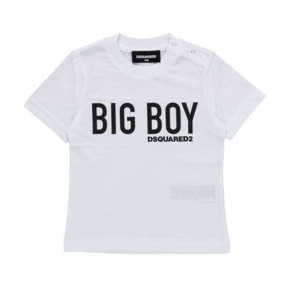 Dsquared2 - LOGO T-SHIRT FOR BABY BOYS
