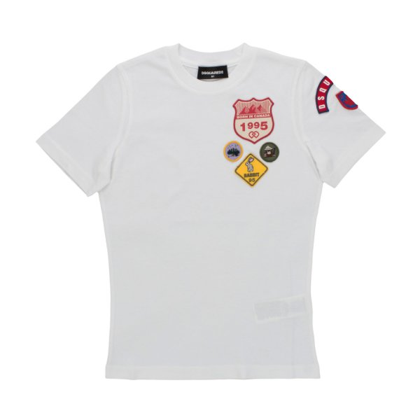 Dsquared2 - T-SHIRT WITH LOGO FOR BOYS