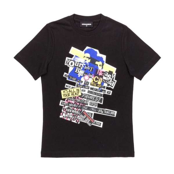 Dsquared2 - GIRL PRINTED T-SHIRT