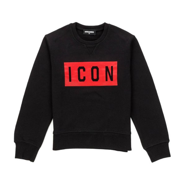 Dsquared2 - ICON PRINT SWEATSHIRT FOR BOYS