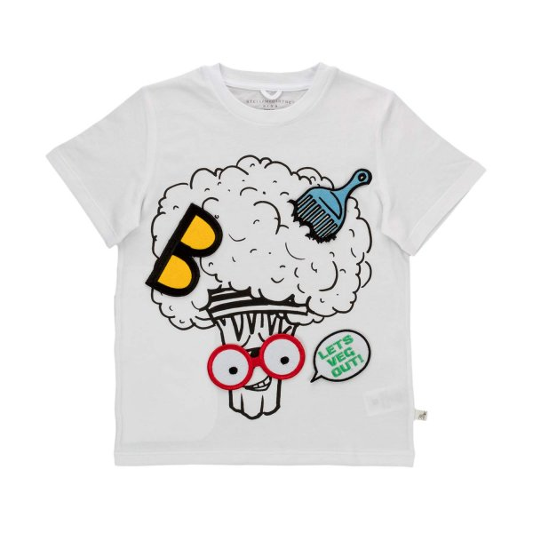 Stella Mccartney - VEG GANG T-SHIRT FOR BOYS