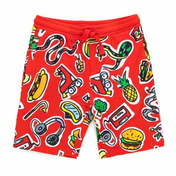 Stella Mccartney - LITTLE BOY COTTON SHORTS