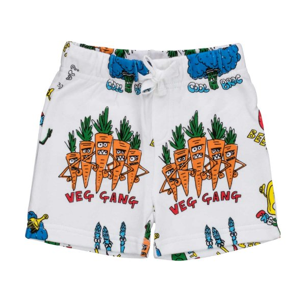 Stella Mccartney - SHORTS CON STAMPA BIMBO