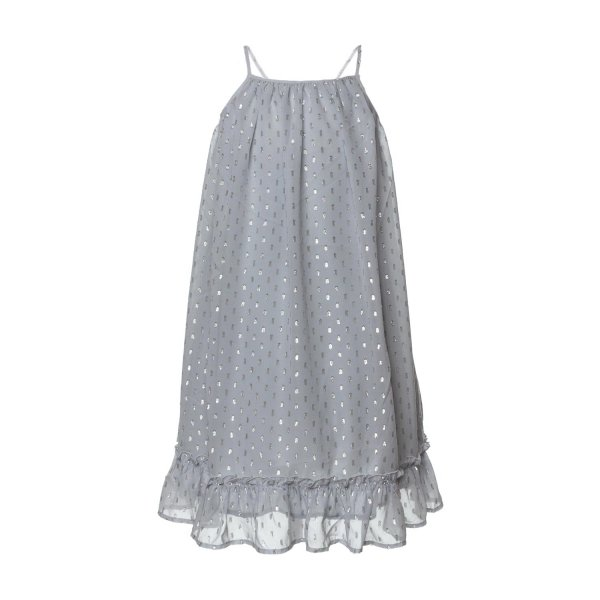 Stella Mccartney - SILVER DRESS FOR GIRLS