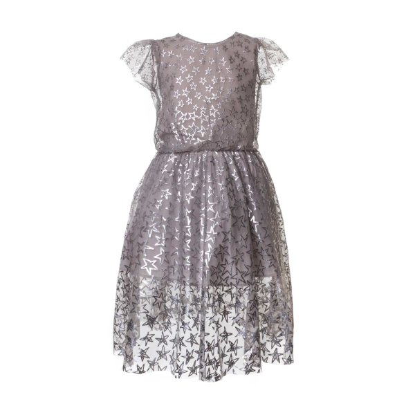 Stella Mccartney - GIRL SILVER DRESS