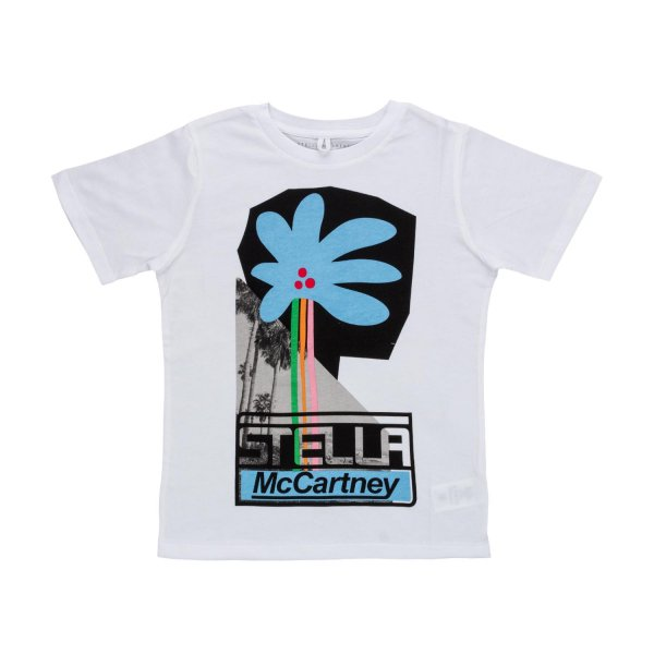 Stella Mccartney - LOGO T-SHIRT FOR GIRLS