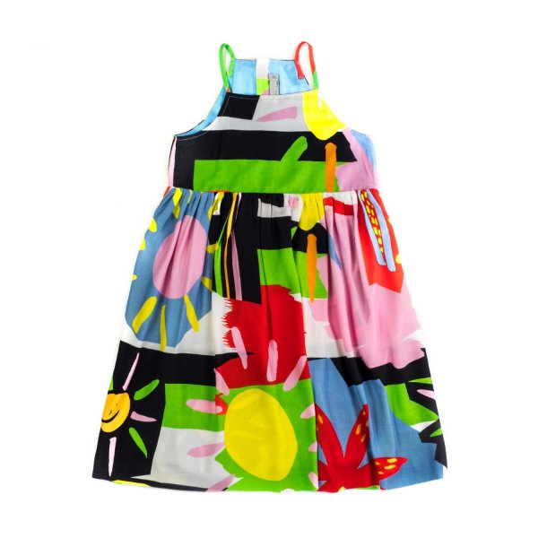 Stella Mccartney - GIRL COLOURFUL DRESS