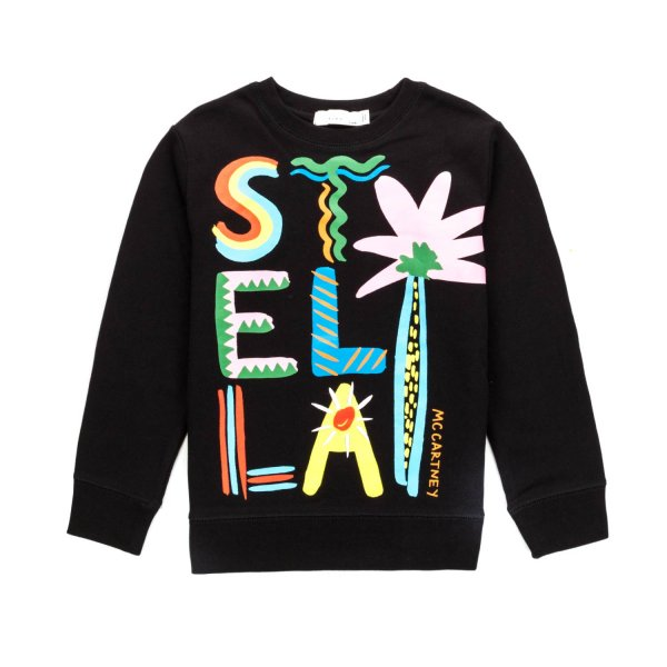 Stella Mccartney - GIRL PRINTED SWEATSHIRT