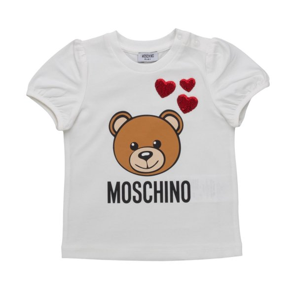 Moschino - BABY GIRL TEDDY BEAR T-SHIRT
