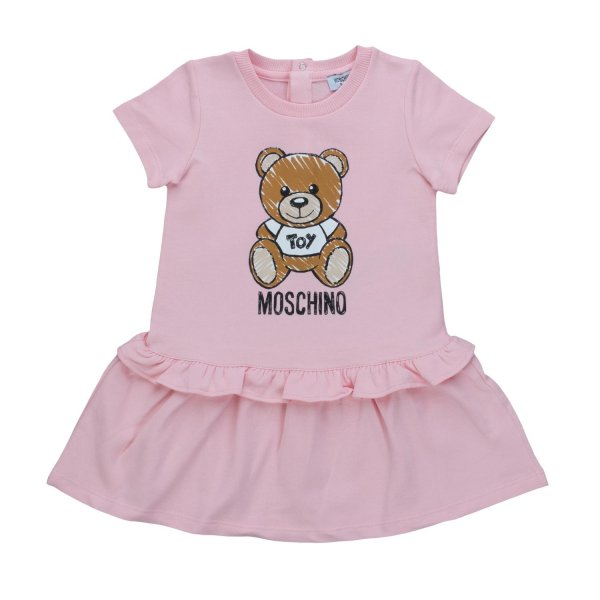 Moschino - BABY GIRL TEDDY BEAR DRESS