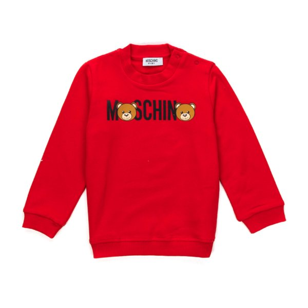 Moschino - LOGO SWEATSHIRT FOR BABY BOYS