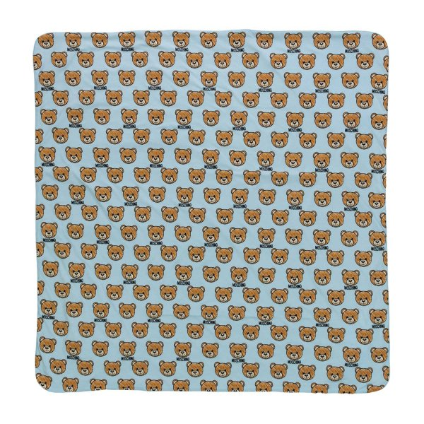 Moschino - TEDDY BEAR BLANKET FOR BOYS