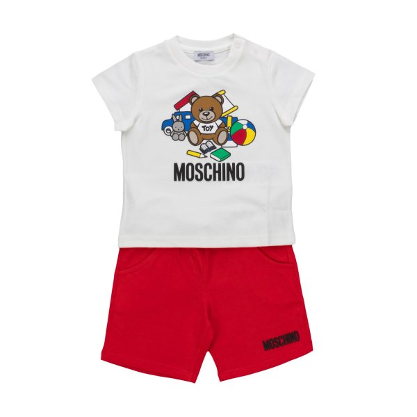 Moschino - BABY BOY SHORTS AND T-SHIRT